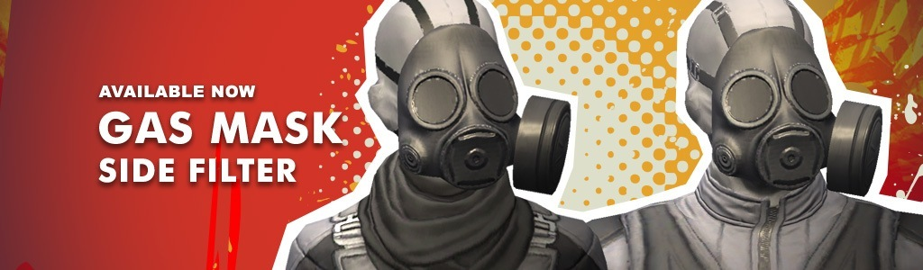 Gas Mask (Side Filter)