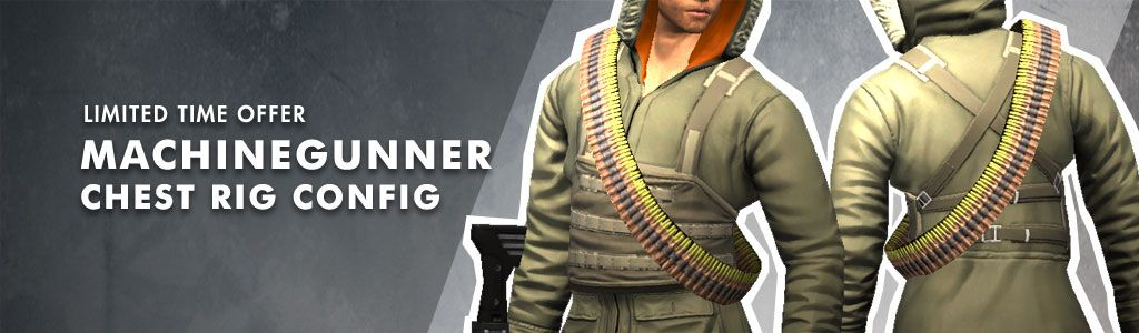 Machinegunner Chest Rig Config