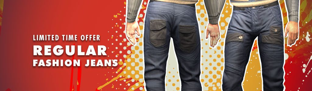 Regular Fashion Jeans