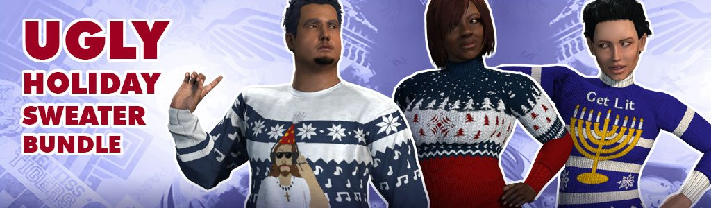 Ugly Holiday Sweater Bundle